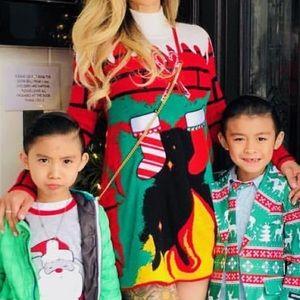 Christmas dress size XS
